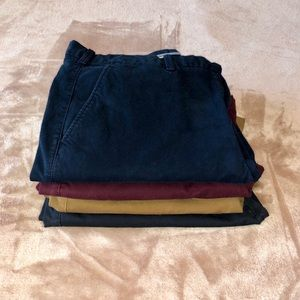 GAP Pants - GAP SLIM FIT CHINOS